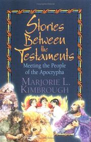 Cover of: Stories Between the Testaments | Marjorie L. Kimbrough