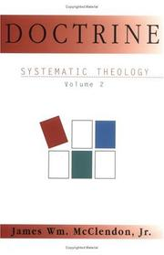 Cover of: Systematic Theology, Vol. 2 | James William McClendon