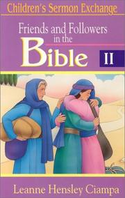 Cover of: Friends and followers in the Bible