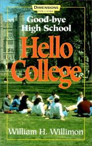 Cover of: Good-Bye High School Hello College