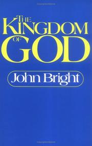 Cover of: The Kingdom of God