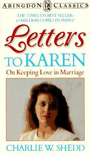 Cover of: Letters to Karen  Abingdon Press (Abingdon Classics)