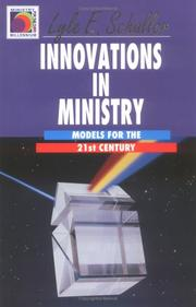 Cover of: Innovations in ministry: models for the twenty-first century