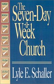 Cover of: The seven-day-a-week church