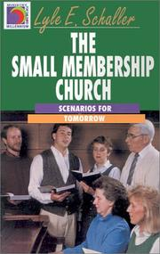 Cover of: The Small Membership Church