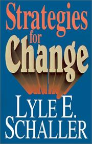 Cover of: Strategies for change