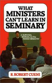 Cover of: What ministers can't learn in seminary
