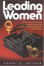 Leading women by Carol E. Becker