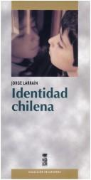 Cover of: Identidad chilena