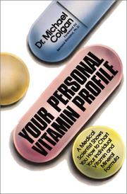 Cover of: Your Personal Vitamin Profile
