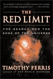 Cover of: The red limit
