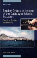 Cover of: Smaller orders of insects of the Galápagos Islands, Ecuador | Stewart B. Peck