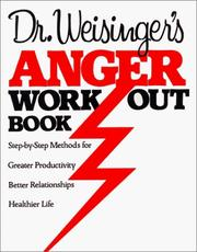 Cover of: Dr. Weisinger's Anger work-out book