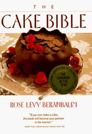Cover of: The cake bible