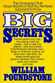 Big secrets by William Poundstone