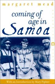 Cover of: Coming of age in Samoa