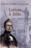 Cover of: Lettres à Julie