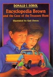 Cover of: Encyclopedia Brown and the case of the treasure hunt