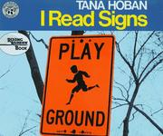 Cover of: I Read Signs