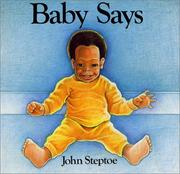 Cover of: Baby says