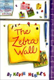 Cover of: The Zebra Wall