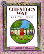 Cover of: Chester's Way