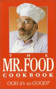 Cover of: The Mr. Food cookbook | Art Ginsburg