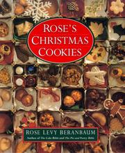 Cover of: Rose's Christmas cookies