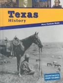 Cover of: Texas history