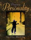 Cover of: Perspectives on personality