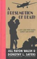 Cover of: A presumption of death