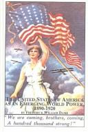 Cover of: The United States of America as an emerging world power, 1890-1920