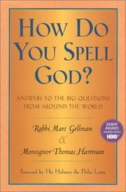 Cover of: How do you spell God? | Marc Gellman