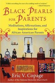 Cover of: Black pearls for parents