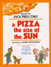 Cover of: pizza the size of the sun | Jack Prelutsky