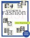 Who's who in fashion by Anne Stegemeyer