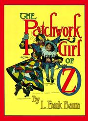 Cover of: The  patchwork girl of Oz | L. Frank Baum