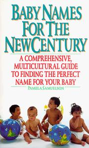 Cover of: Baby names for the new century