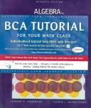 Cover of: Algebra for college students
