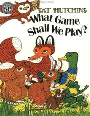 Cover of: What Game Shall We Play?