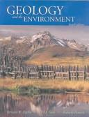 Cover of: Geology and the environment