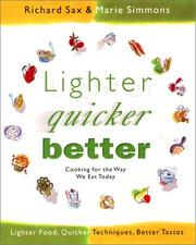Cover of: Lighter, quicker, better