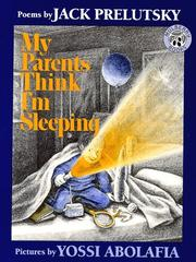 Cover of: My parents think I'm sleeping: poems