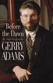 Cover of: Before the dawn | Gerry Adams