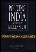 Cover of: Policing India in the new millennium |