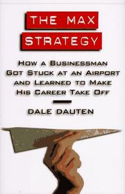 Cover of: The Max strategy