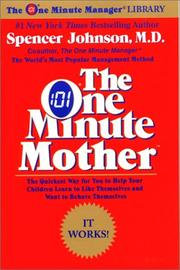Cover of: The one minute mother