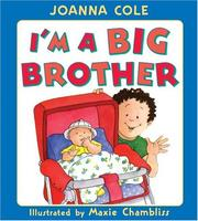 I'm a big brother by Joanna Cole