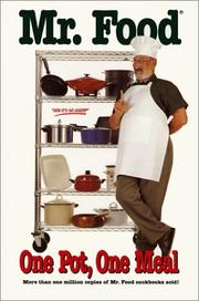 Cover of: Mr. Food, one pot, one meal | Art Ginsburg