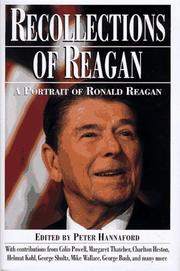 Cover of: Recollections of Reagan